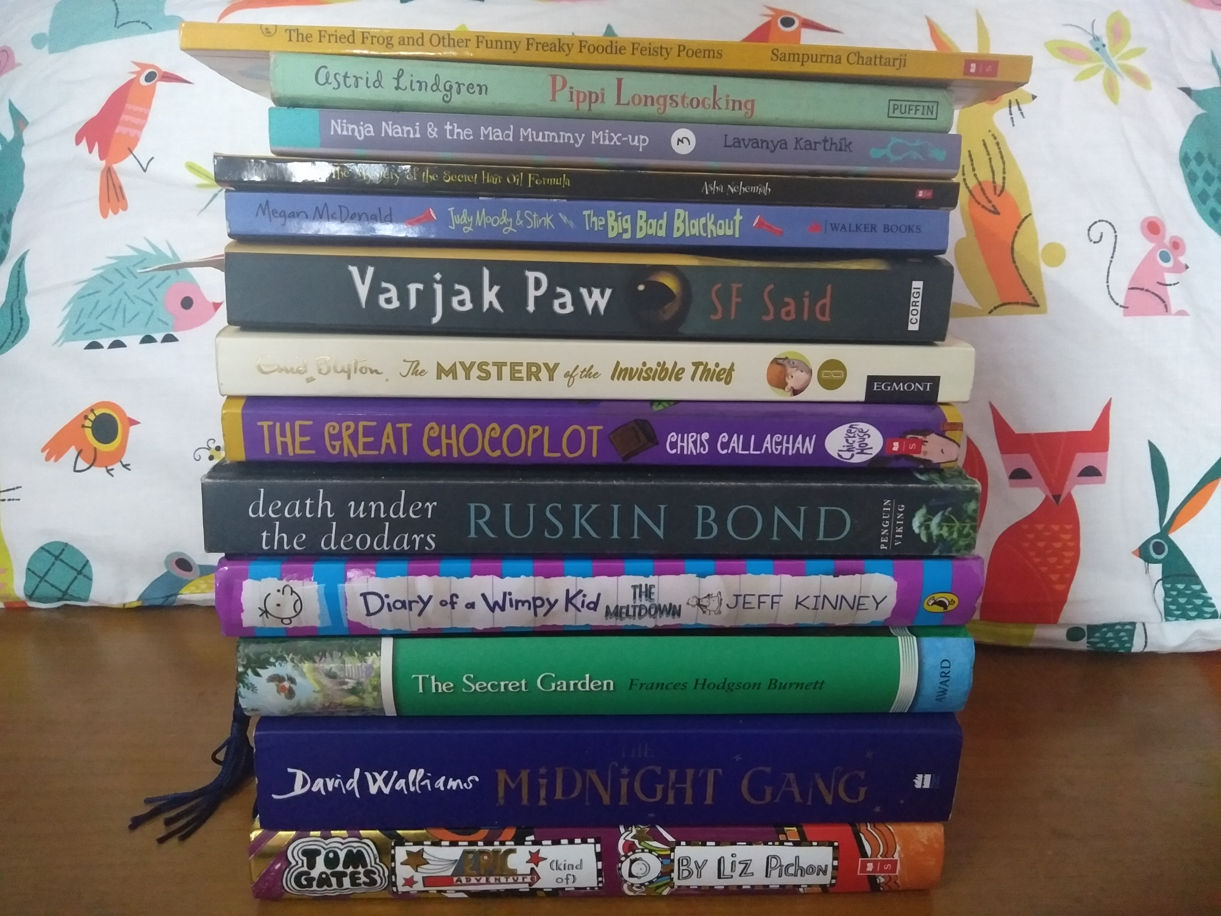 Recommended Books: Aarini's list of children's books she loved reading in 2018 (Age 9-12 years)