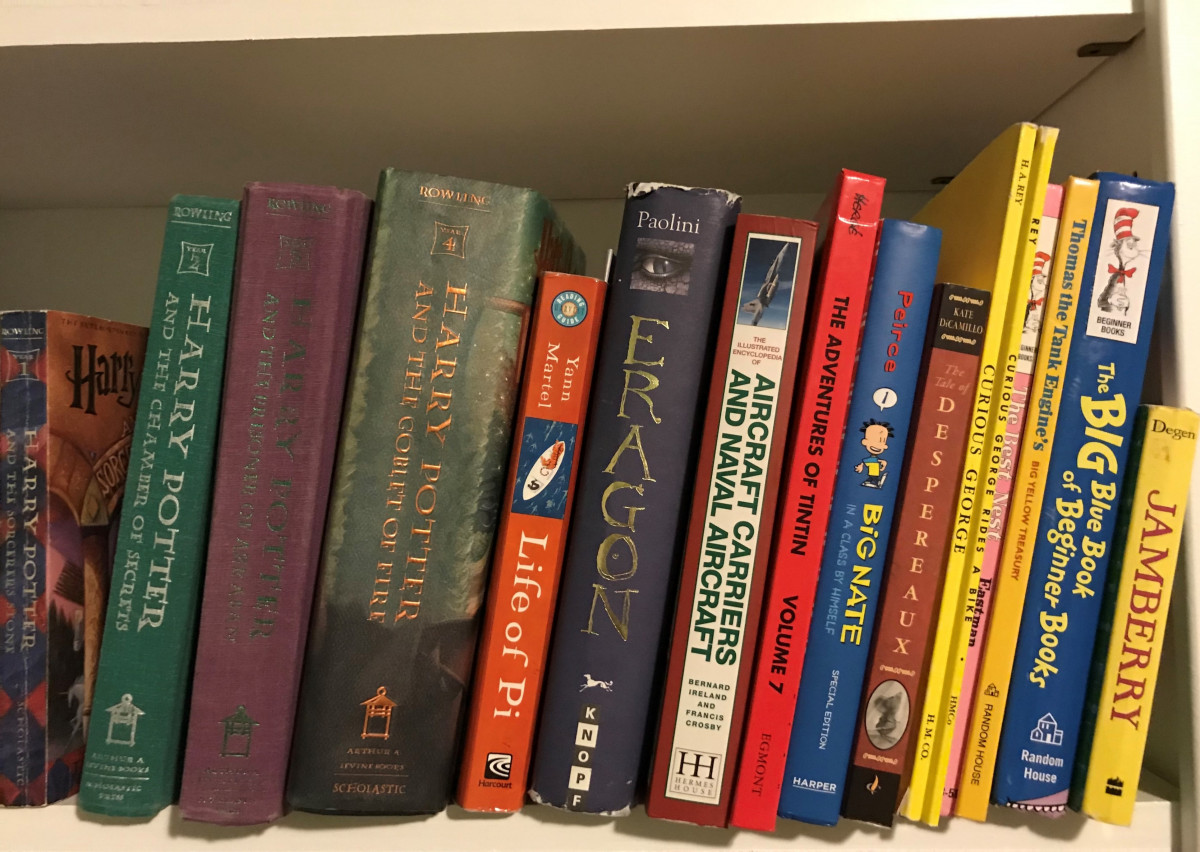 Roomi's book recommendations for kids from 0-14+ years!