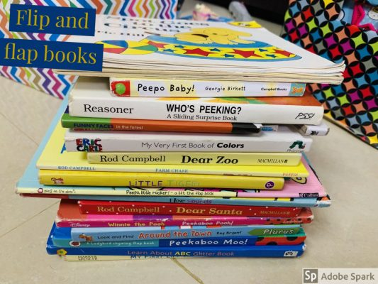 Recommended Books: Sirisha's List of Flip & Flap Board Books for Babies & Toddlers