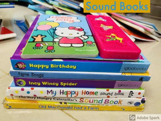 Sirisha's Recommended Sound Books for Toddlers