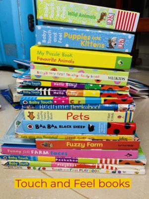 Recommended Books: Sirisha's List of Touch & Feel Board Books for Babies & Toddlers