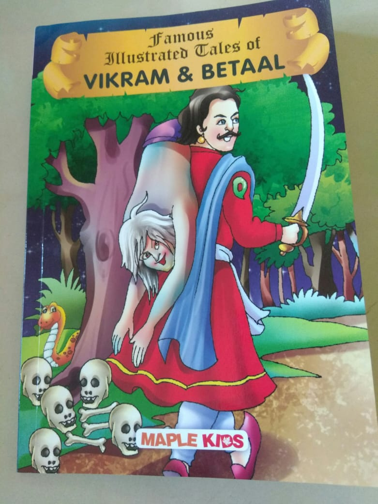 Review: Famous Illustrated Tales of Vikram and Betaal