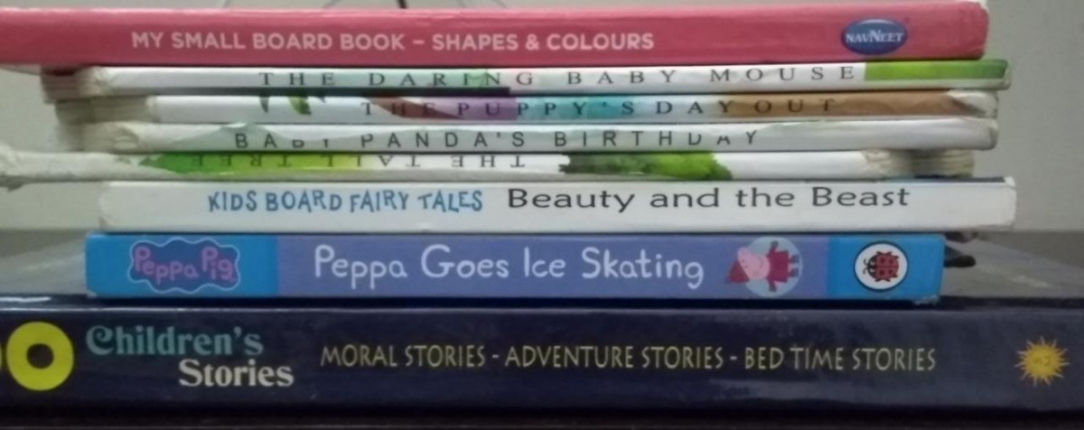 Recommended Books: Vedika's Board Books for 0-2 years | Kids