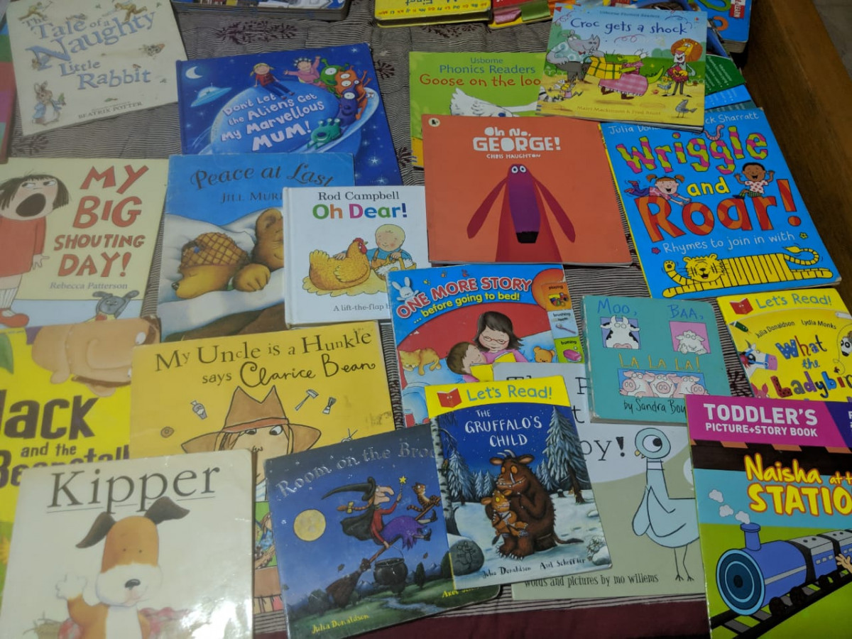 Our favourite books: Children's Books recommended by Payal and her kids for 0-6 years