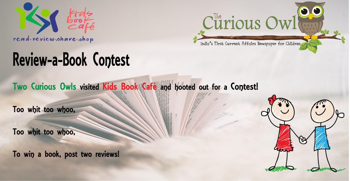The Curious Owl and Kids Book Café Review-a-Book Contest!