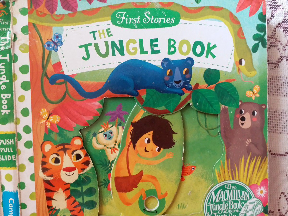 Review: The Jungle Book (First Stories – Push, Pull and Slide Book)