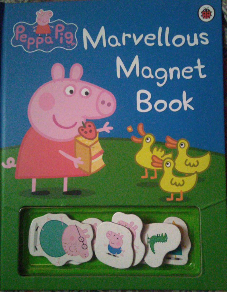 Review: Peppa Pig: Marvelous Magnet Book