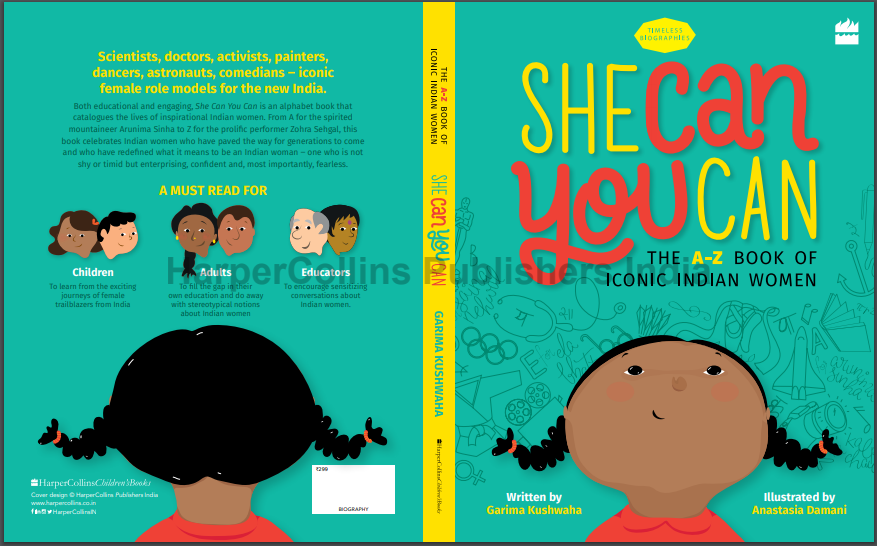 She Can You Can: The A-Z Book of Iconic Indian Women