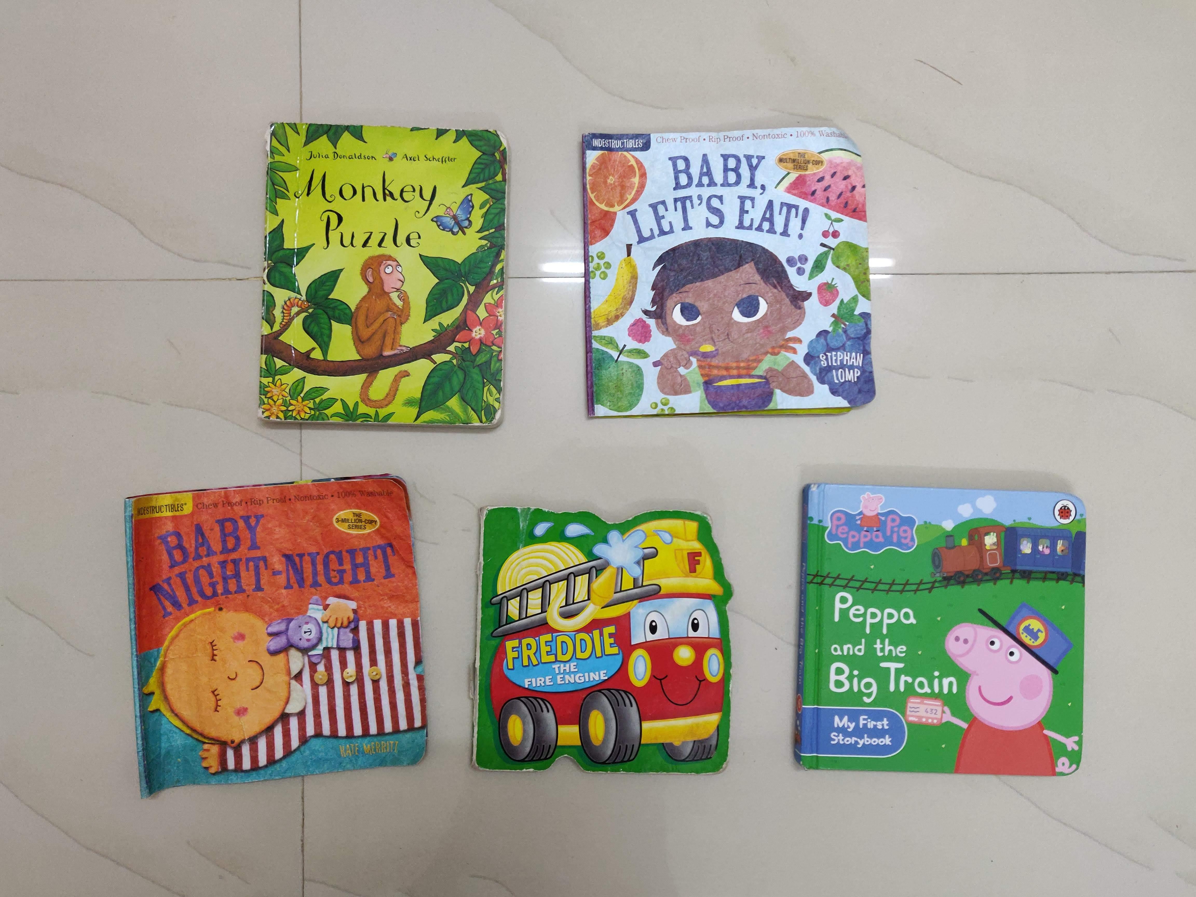 15 Books Little KAVIN loves to read  #kbcKeepCalmAndReadOn