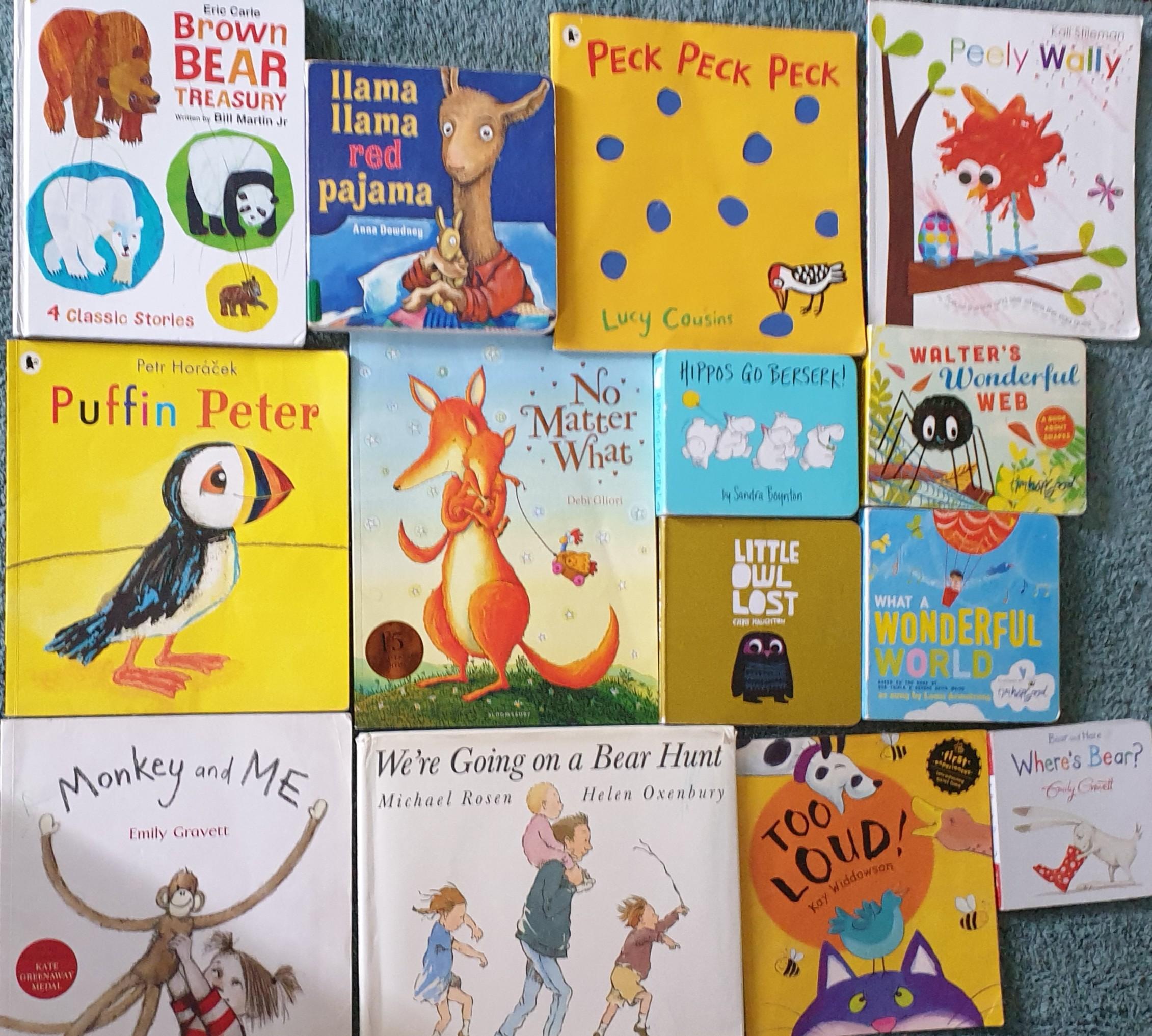 Avan's favourite 15: Toddler books we read again and again! #kbcKeepCalmAndReadOn