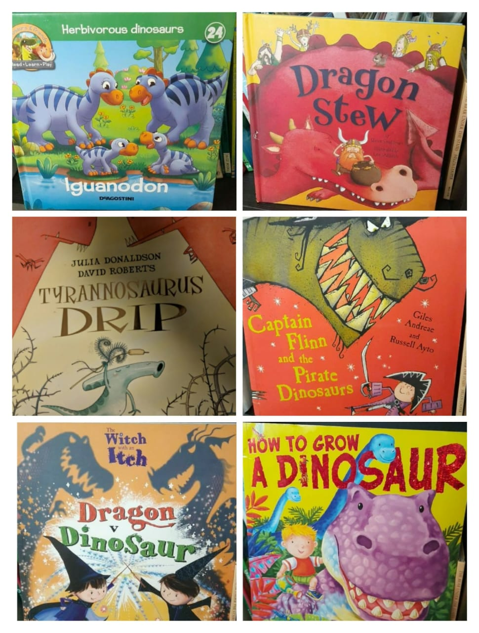 40 Dinosaur Books for your Little Dino: 1-8 years