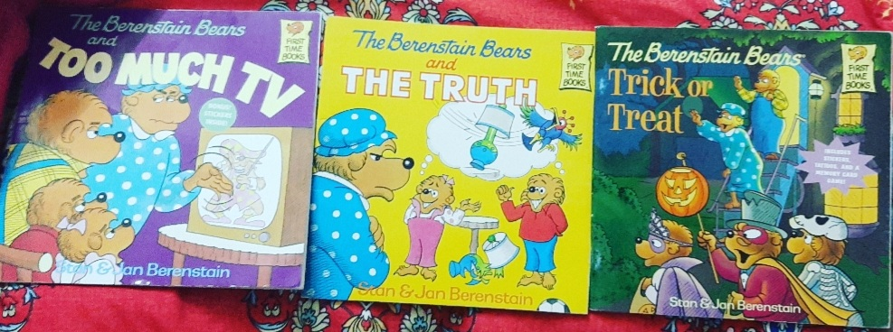 Addressing Toddler & Pre-Schooler Issues with The Berenstain Bears Books! (3-7 years)