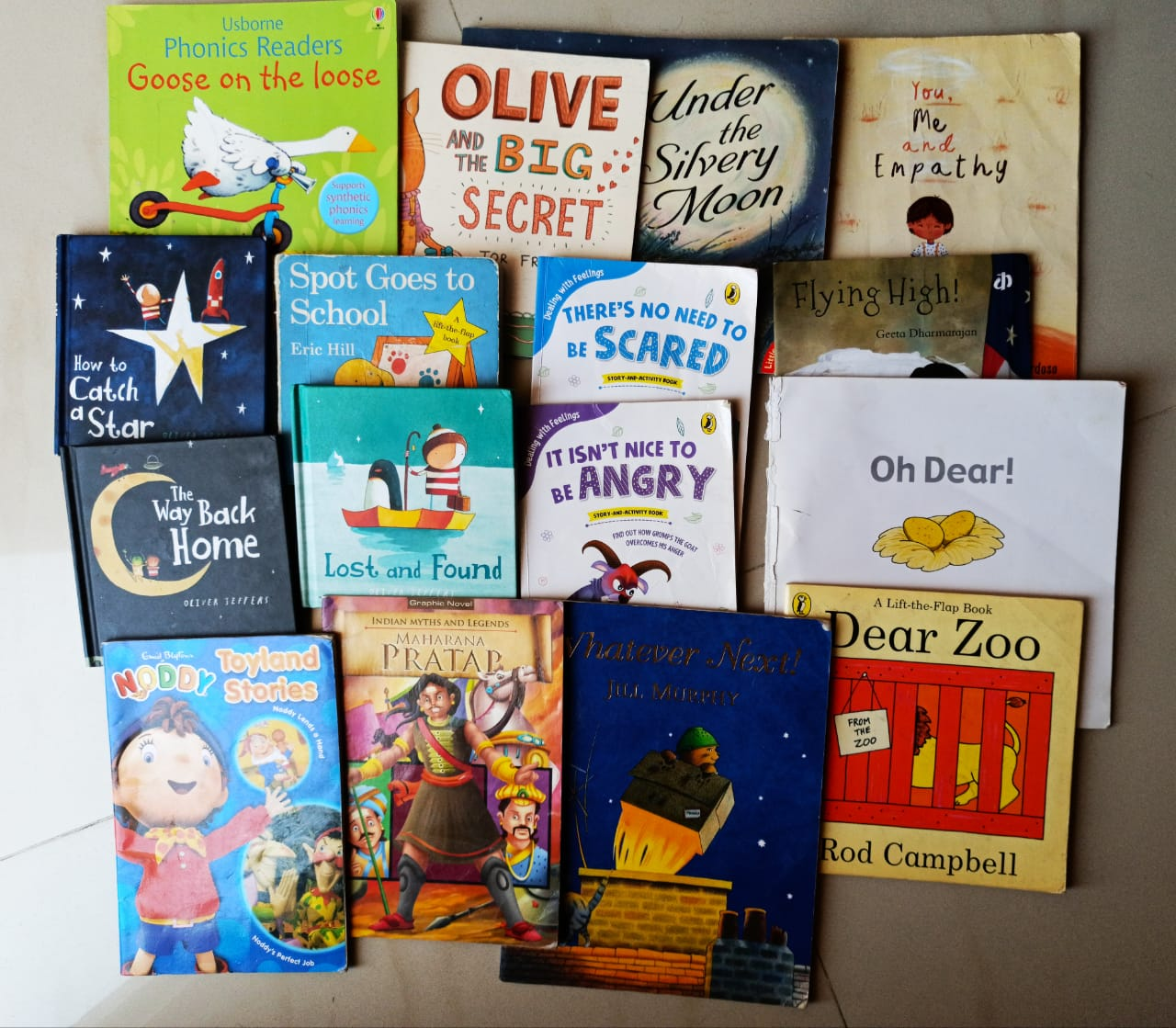 Anay's all time favourite books! (2-5 years) #kbcKeepCalmAndReadOn