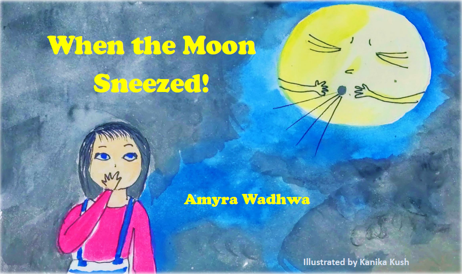 Review: When The Moon Sneezed! (Stories by Amyra)