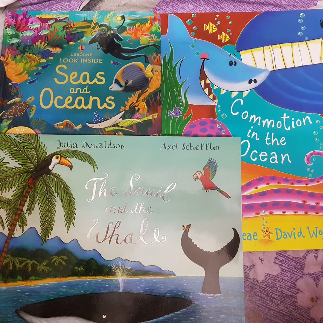 Must Have Books for the Sea Creature Crazy Toddler!