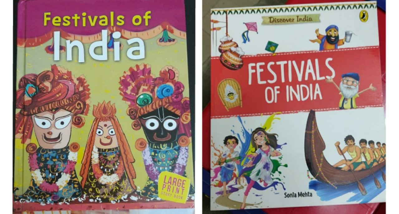 Children's Books That Celebrate The Festivals Of India! (2-12 years)