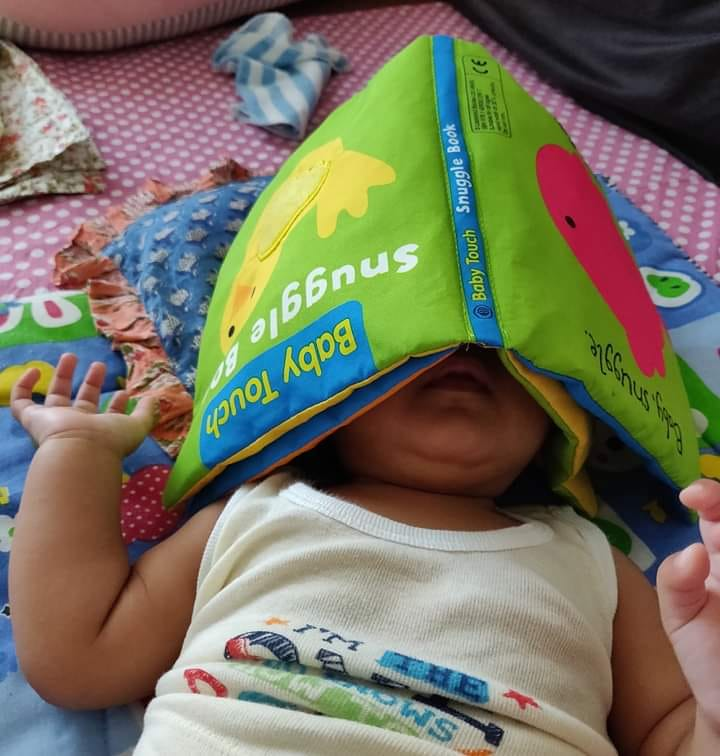 Vedika's Journey With Books At 22 months!