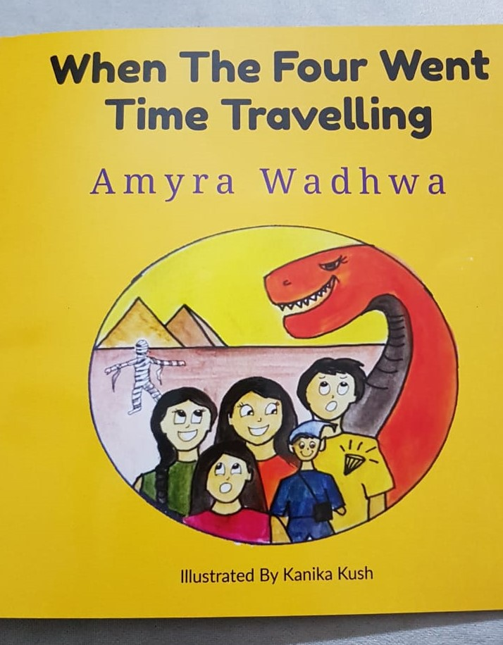 Review: When The Four Went Time Travelling (Stories By Amyra)