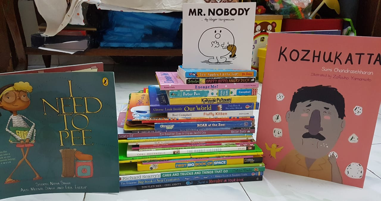 Neil's List of Must Reads for 4 year olds #kbcBookBingoJr