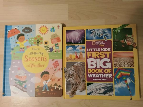 Two Weather Books We Love! (3-7 years)