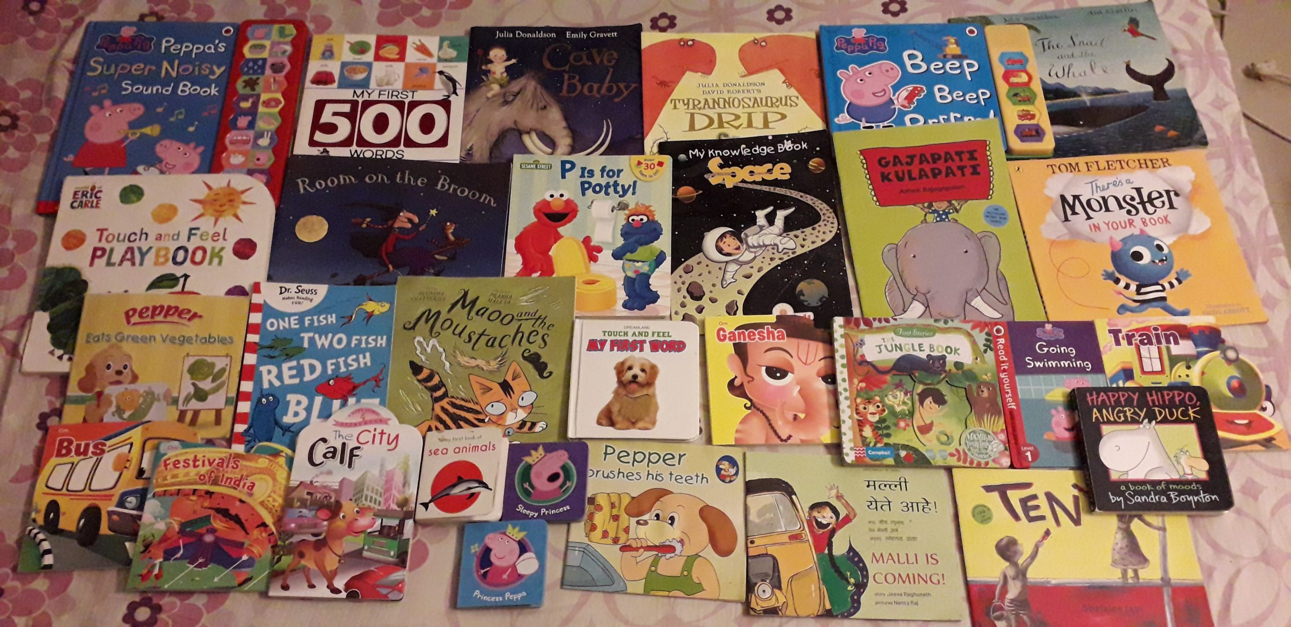 Little S's list of favorite books at 19 months  #kbcBookBingoJr
