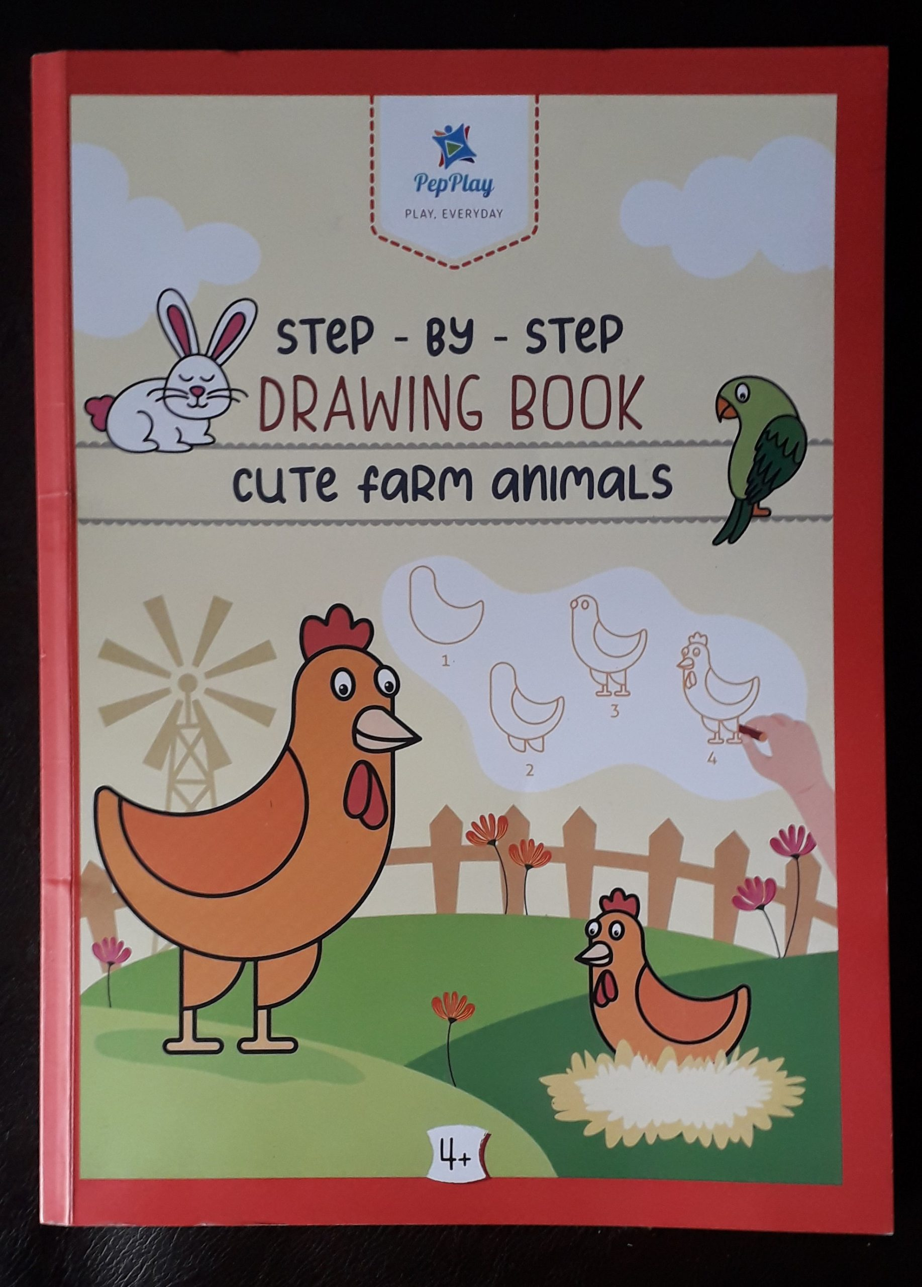 Review: Step by Step Drawing Book (Cute Farm Animals)
