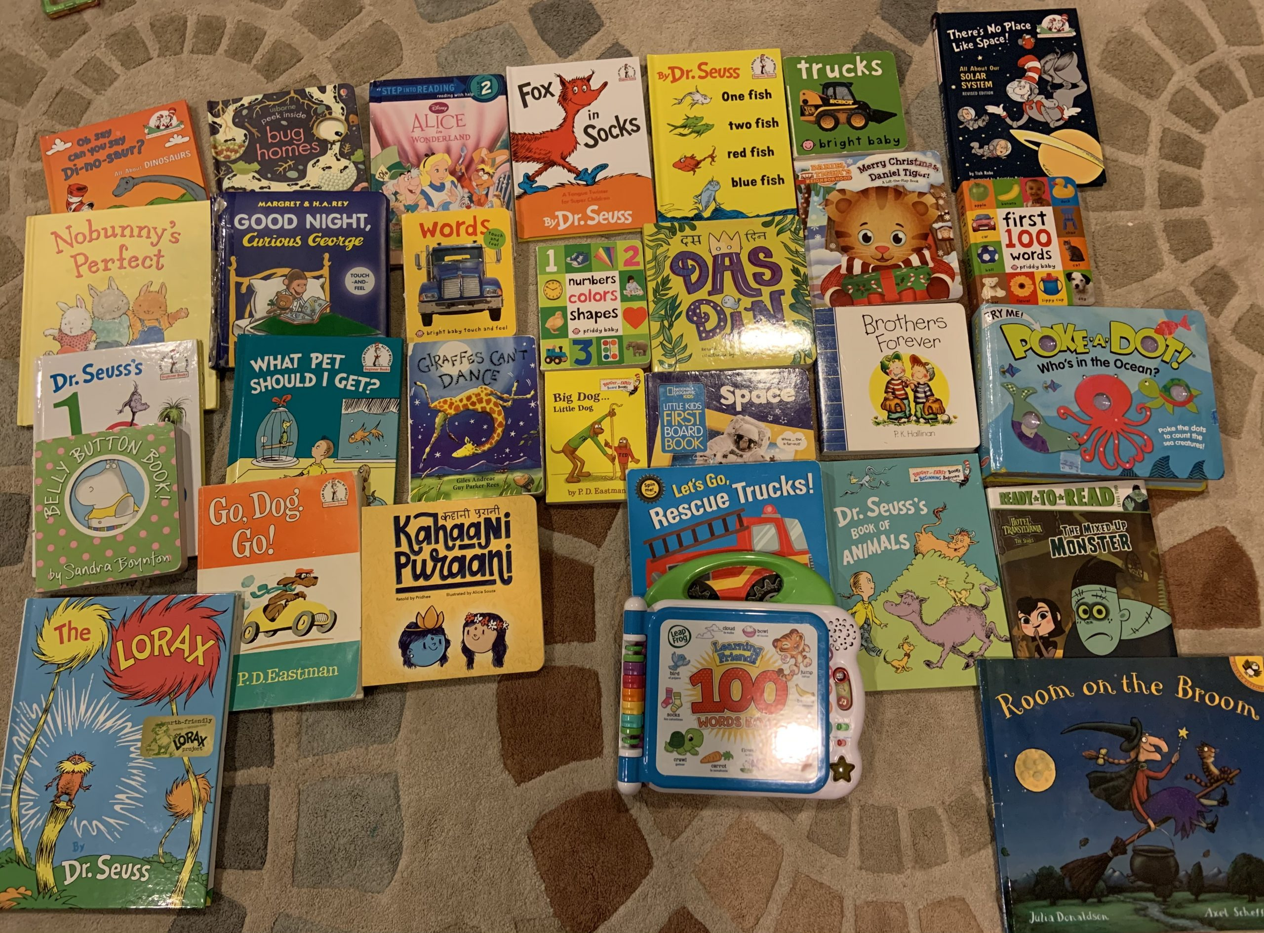 Riteish's List of Most Loved Books for 0-3 year olds #kbcBookBingo