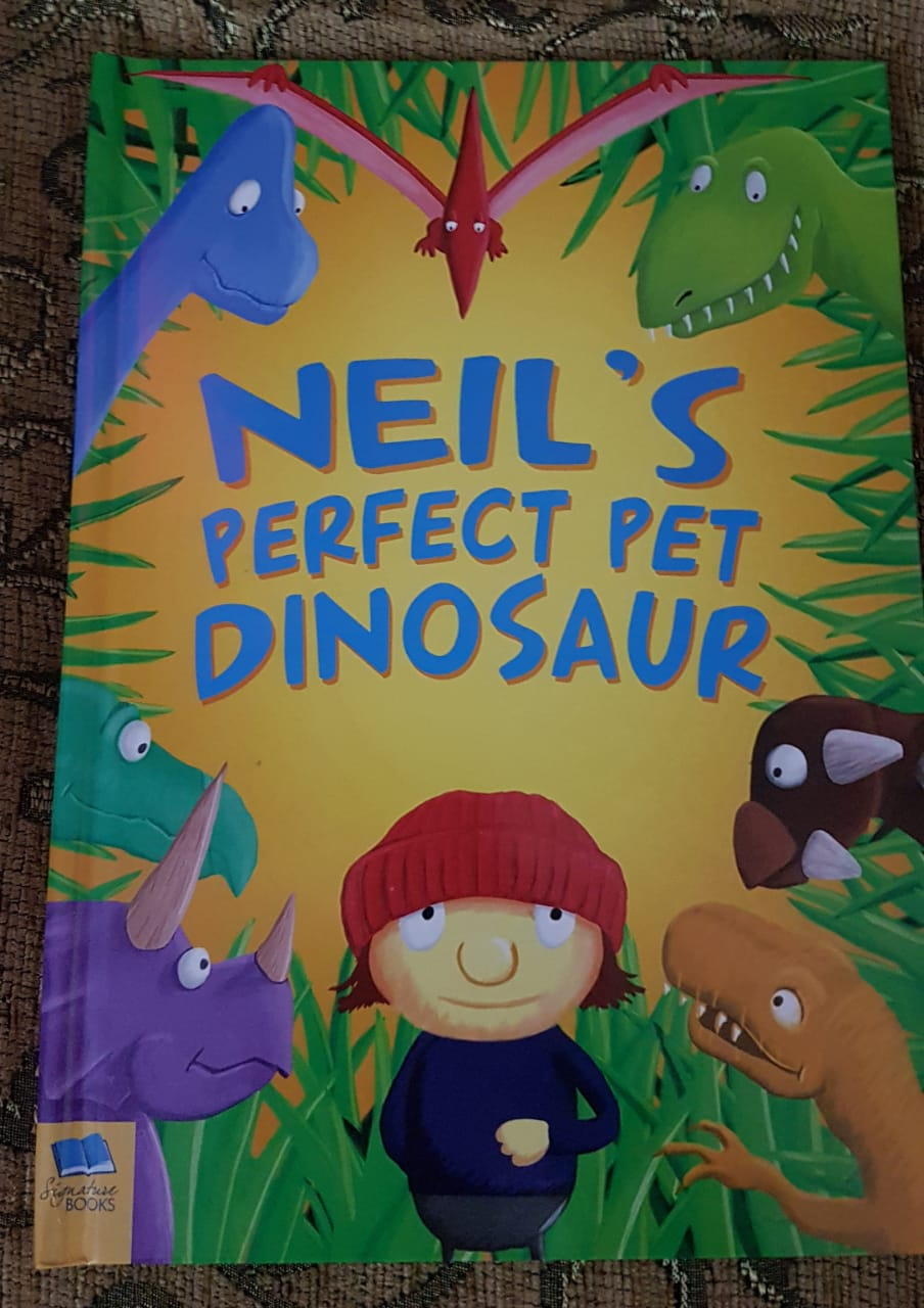 Review: Personalised Pet Dinosaur Book (By In The Book)