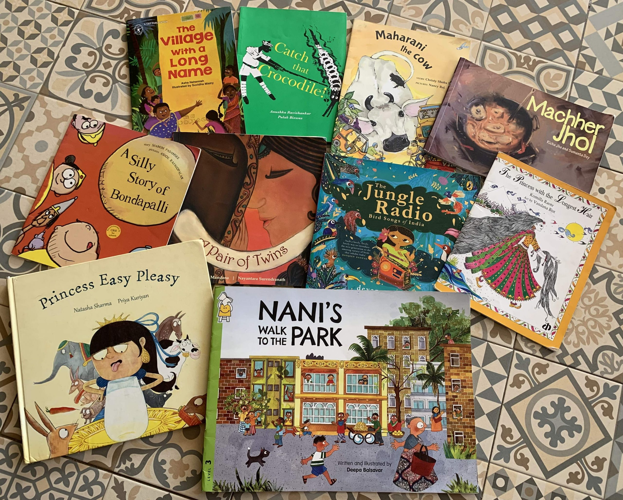 10 Picture Books that are Favourites at Author Nandita da Cunha's home! #kbcAuthoRity