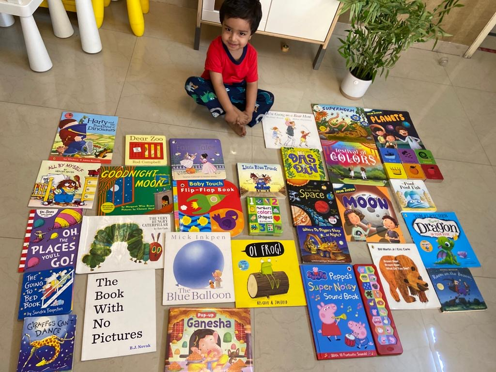 Recommendations from Kabir's Library for 0 to 6 years. #kbcBookBingoJr