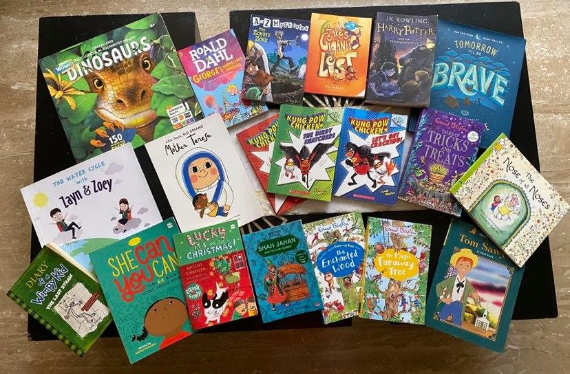 Divit's List Of Super Cool Books (6-9 years) #kbcBookBingoSr