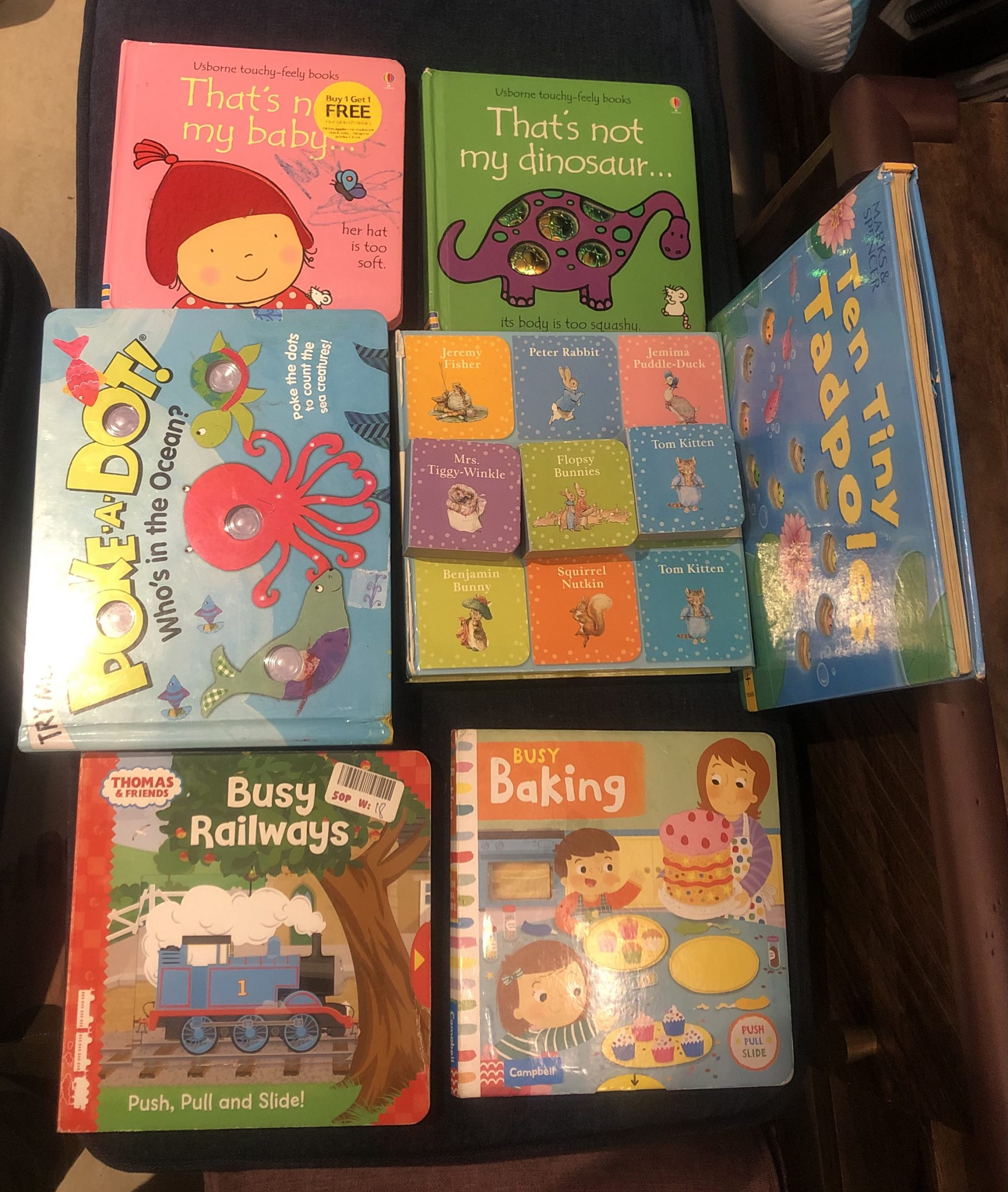 Little 2 Year Old Jumping Jack's Favourite Books!