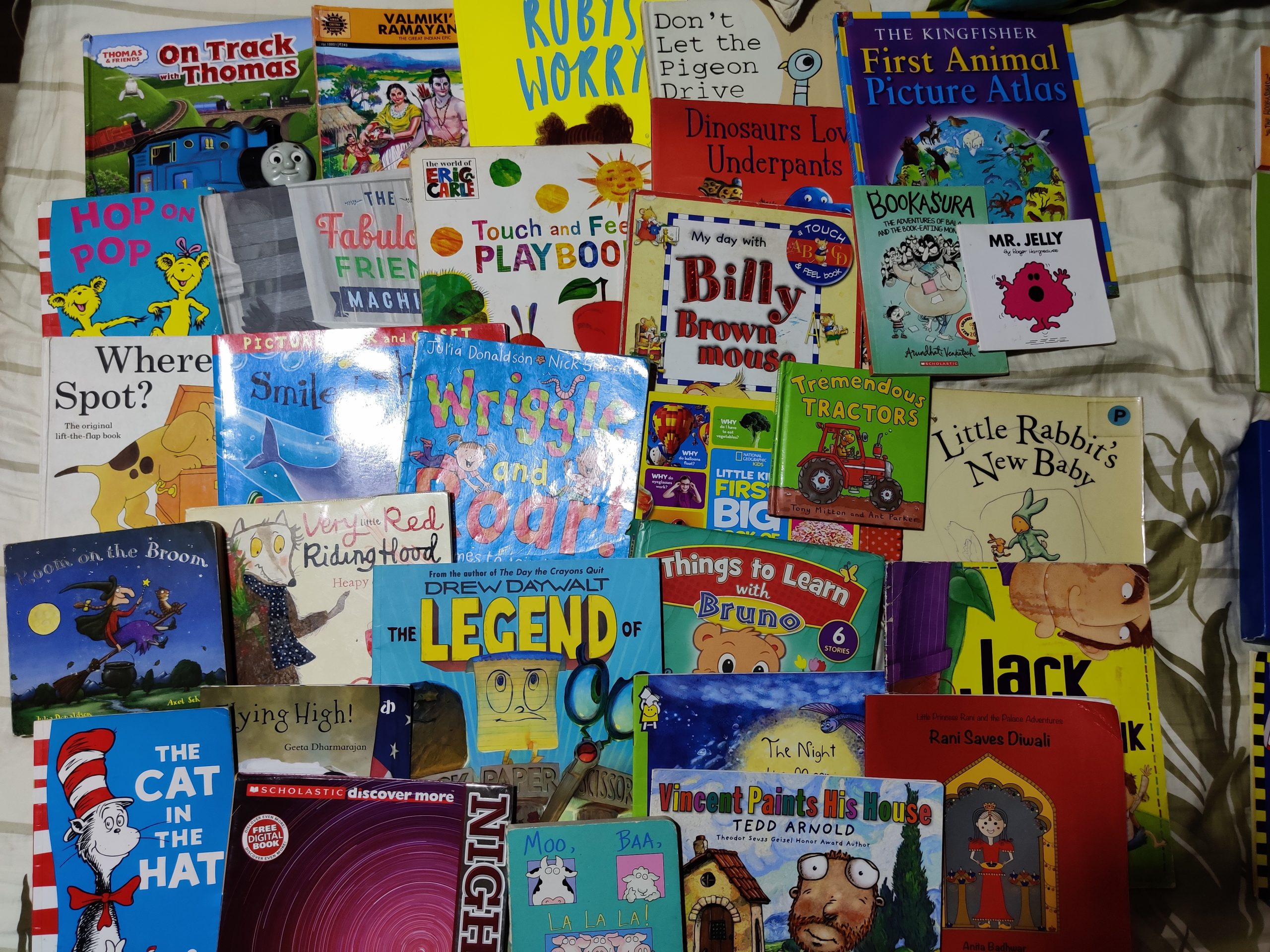 My little mouse's 30 favourite reads #kbcBookBingoJr (0-6years)