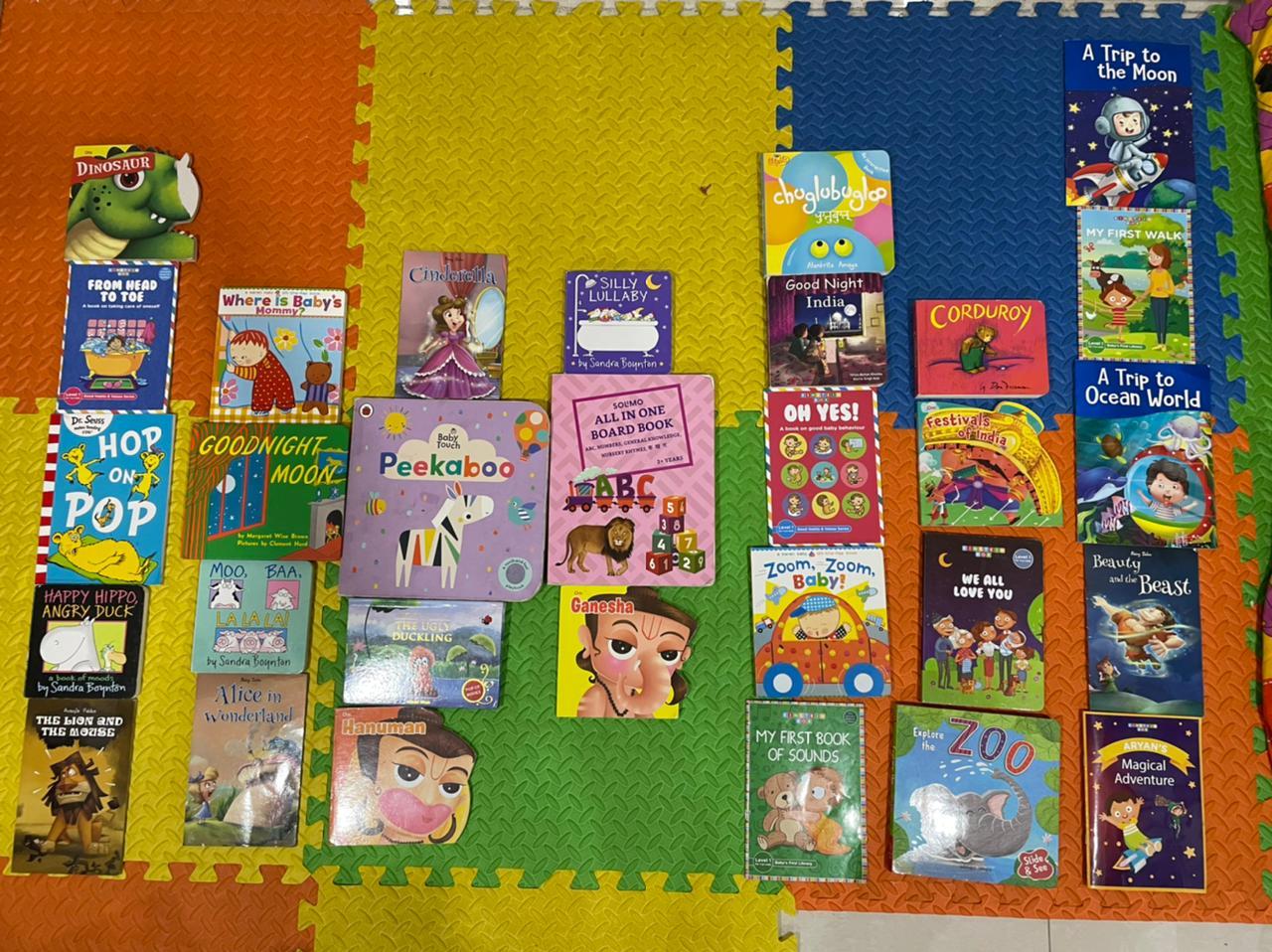 Aryan's favorite 30 books for curious toddlers! #kbcBookBingoJr