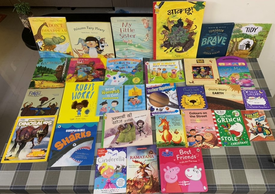 A book a day brings happiness your way. Sharav's list of 30 happiness boosters. #kbcBookBingoJr