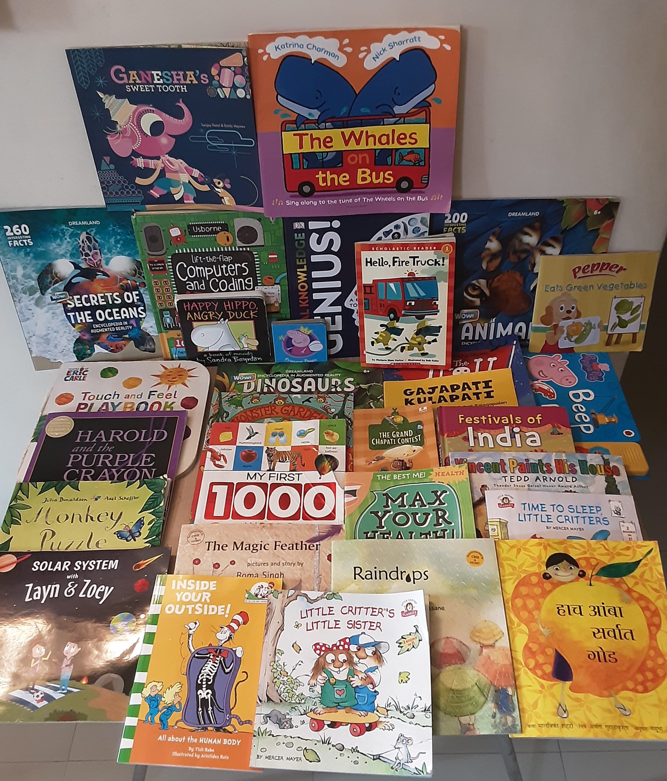 A's Favourite 30 (books for 3-6 years)#kbcbookbingojr
