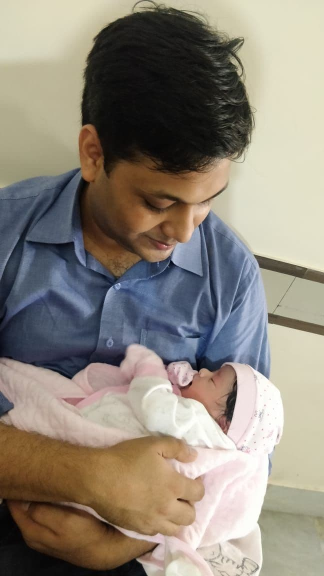 The day I became a father