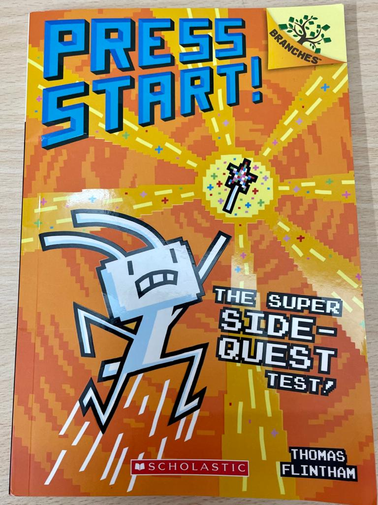 Review: The Super Side-Quest Test! (From the Press Start! Series)