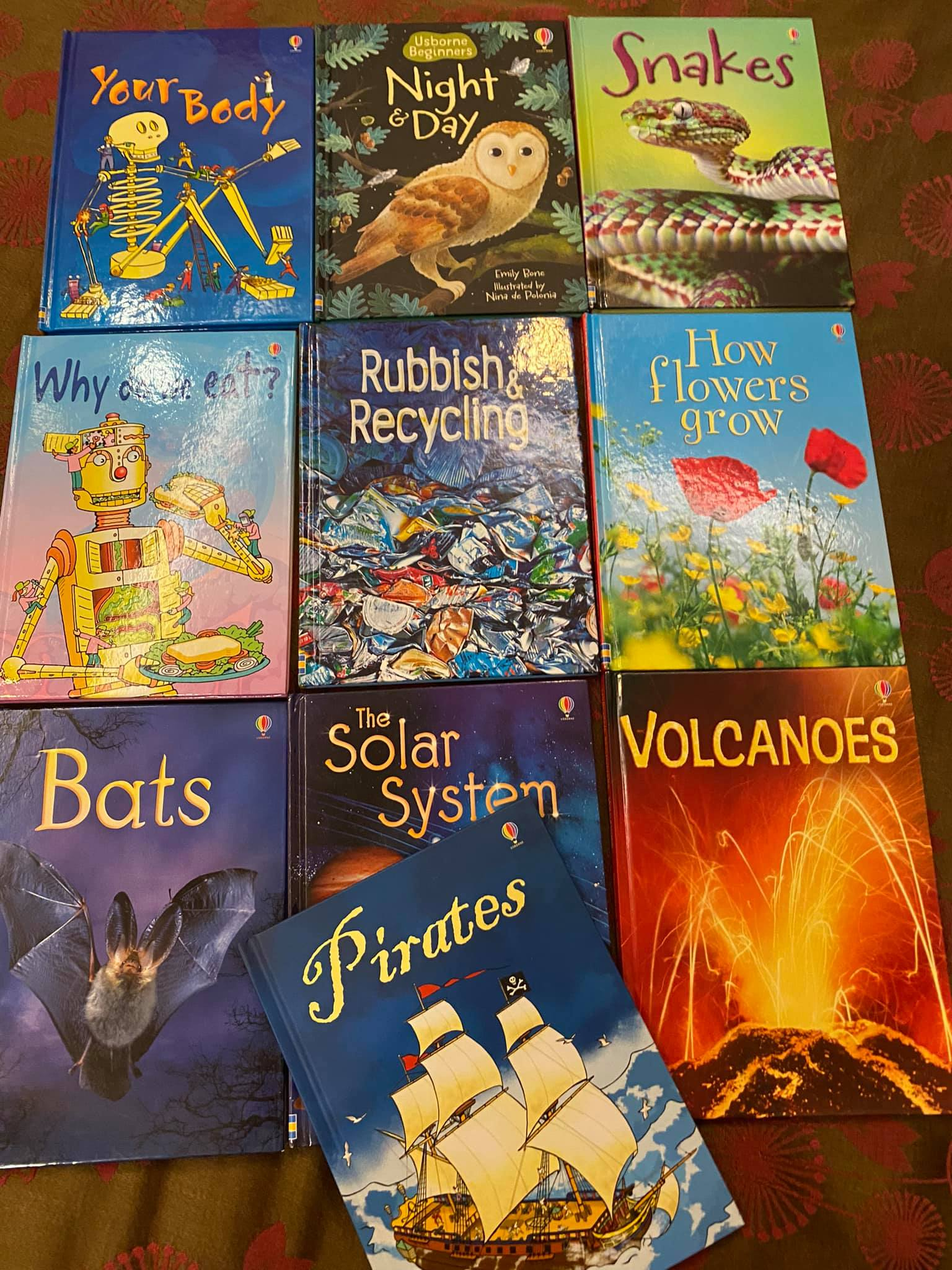 The Usborne Beginners Series: Why every child between 3.5-8 years should have some!