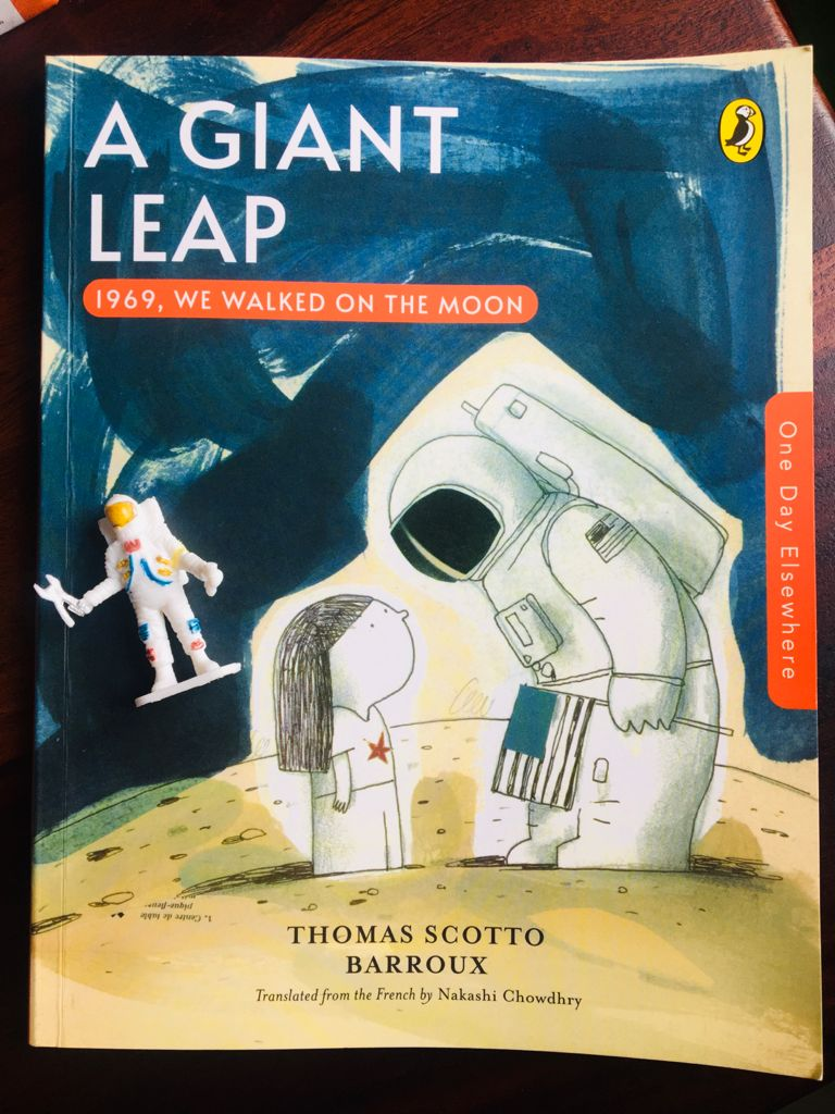 Review: One Day Elsewhere: A Giant Leap: 1969, We Walked on the Moon.
