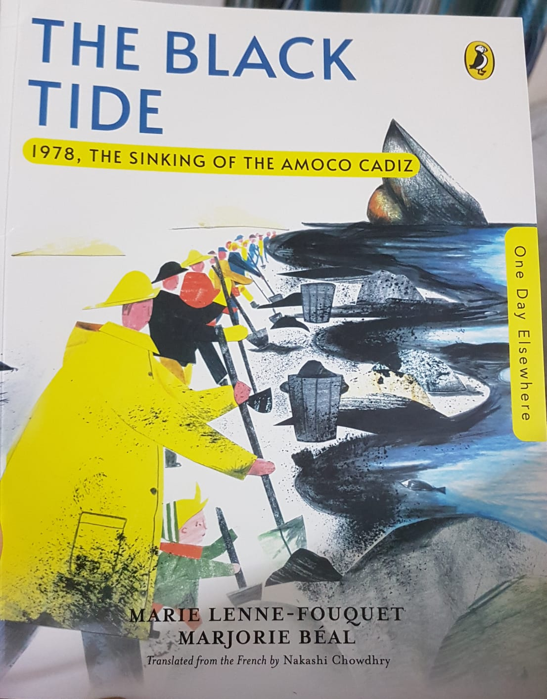 Review: The Black Tide: 1978, The Sinking Of The Amoco Cadiz