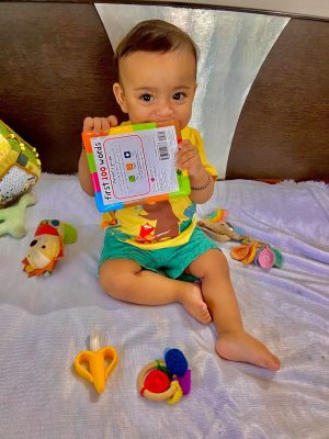 Is Your Little Monster In The Teething/Mouthing/Tearing Phase? Tips To Save Your Books Without Losing Your Mind!