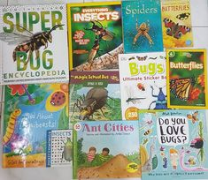 Bonkers about Bugs and Insects? Here are some books you must have!