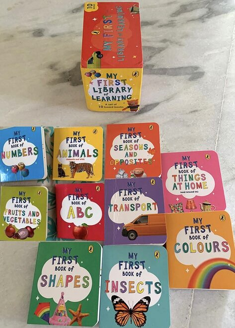 Kickstart your child's reading journey with Puffin's 'My First Library Of Learning' !