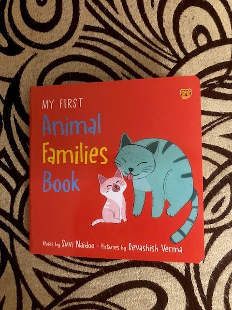 Review: My First Animal Families Book